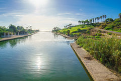 Hadera Fluss-Park Stockfotos