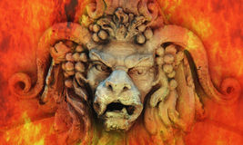 Hades (standbeeld) stock afbeelding