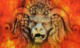 Hades (statua) Immagine Stock