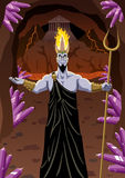 Hades. Welcomes you to the Underworld. No transparency used. Basic (linear) gradients Stock Images