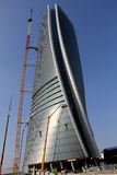 The Hadid Tover under construction at Citylife; Milan Stock Photo