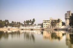 Hadis公园在库尔纳,孟加拉国 免版税库存图片
