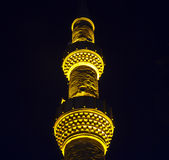 Hadji Bayram Mosque at dusk Stock Photos
