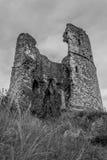 Hadleigh城堡废墟 免版税图库摄影