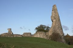 Hadleigh Castle Essex England stock images