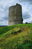 Hadleigh Castle keep Royalty Free Stock Images