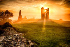 Hadleigh Castle Royalty Free Stock Photography