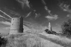 Hadleigh-Schloss stockfotografie