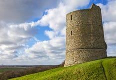 Hadleigh-Schloss in Essex lizenzfreie stockfotografie