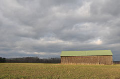 Hadley Tobacco Barn Photos stock