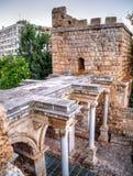 Hadrian's Gate, Antalya, Turkey Stock Photography