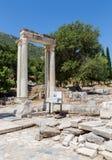 Hadrian's Gate, Ephesus, Turkey Stock Photos