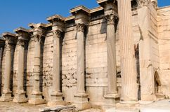 hadrian图书馆 库存照片