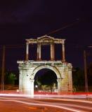 Hadrian曲拱  免版税库存照片