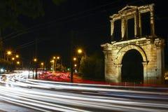 Hadrian曲拱  免版税库存图片