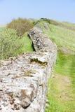 Hadrian的墙壁 免版税库存照片