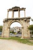 hadrian的曲拱 免版税库存照片