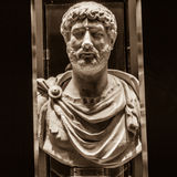 Hadrian (76-138公元) 免版税库存照片