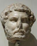 Hadrian画象头  免版税库存照片