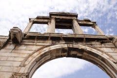 Hadrian弧  免版税库存图片