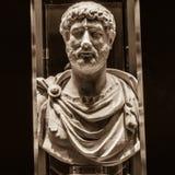 Hadrian (ANÚNCIO 76-138) Foto de Stock Royalty Free