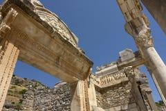 Hadrian båge (Ephesus) Arkivfoton