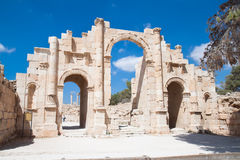 Hadrian Gate Stock Photo