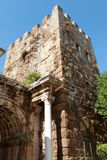 Hadrian Gate in Antalya, Turkey. Stock Images
