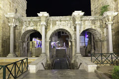 Hadrian gate in Antalya, Turkey Stock Photography