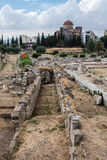 Hadrian Library Athens Greece Royalty Free Stock Images
