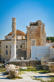 Hadrian Library in Athens, Greece Royalty Free Stock Image