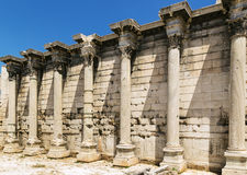 Hadrian Library, Athens Stock Image