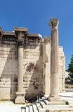 Hadrian Library, Athens Stock Photo