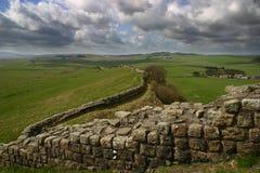 Hadrian \ 'pared de s Foto de archivo libre de regalías