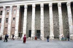 Hadrian pillars Royalty Free Stock Photo