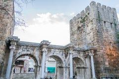 hadrian port royaltyfria bilder