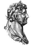 Hadrian royalty free illustration
