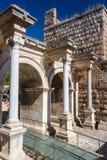 Hadrian Roman gate in Antalya Stock Photography