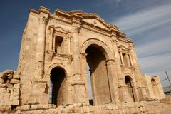 Hadrian's Arch 2 Royalty Free Stock Photo