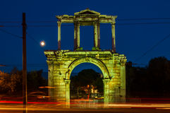 Hadrian's Arch in Athens, Greece Royalty Free Stock Images