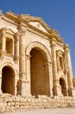 Hadrian's Arch, Jerash (Jordan) Stock Images