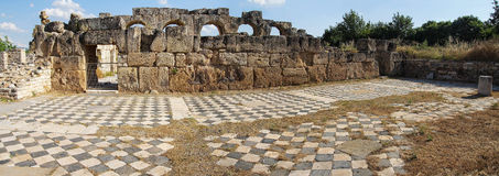 Hadrian's baths Stock Photography