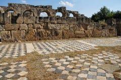 Hadrian's baths Stock Image