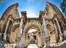 Hadrian`s Gate Antalya Stock Photos