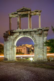 Hadrian`s Gate, Athens, Greece. Hadrian`s Gate in Athens, Greece Stock Image