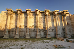 Hadrian's Library, Athens. Royalty Free Stock Image