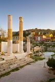 Hadrian's Library, Athens. Royalty Free Stock Photos