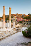 Hadrian's Library, Athens. Royalty Free Stock Photos