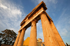 Hadrian's Library, Athens. Royalty Free Stock Photography
