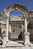 Hadrian's Temple. Izmir, Turkey Royalty Free Stock Images
